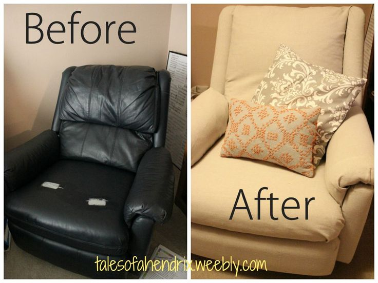 recovering chair cushions vinyl drexel heritage chairs 1000+ ideas about recliner covers on pinterest   cover, furniture upholstery and ...