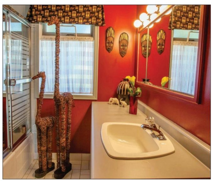 Africanthemed Bathroom Accessories  Photo Gallery on the