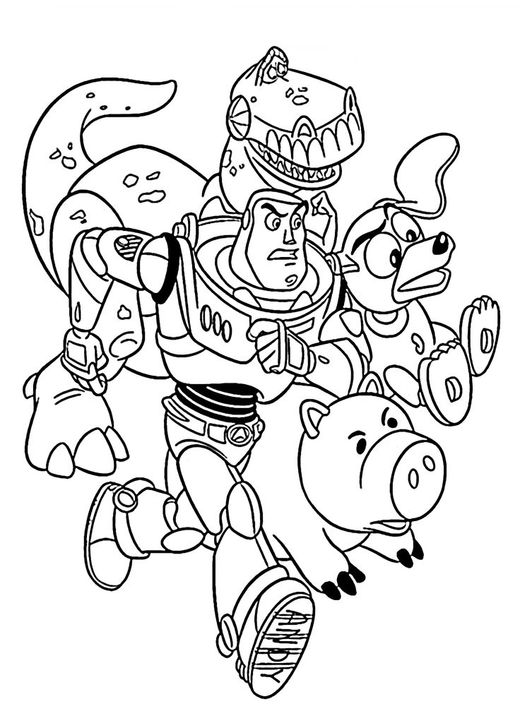 645 best images about Cartoons coloring pages on Pinterest