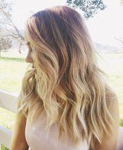 lauren conrad's long blonde waves