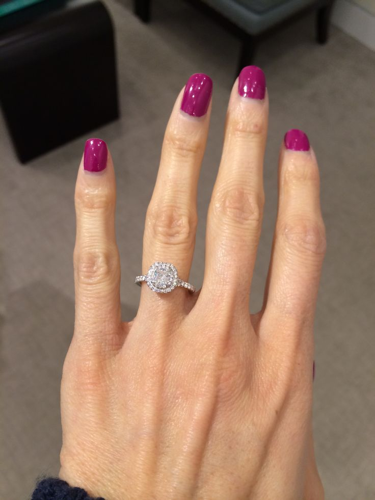 Tiffany Soleste Engagement Ring Our Engagement 122513