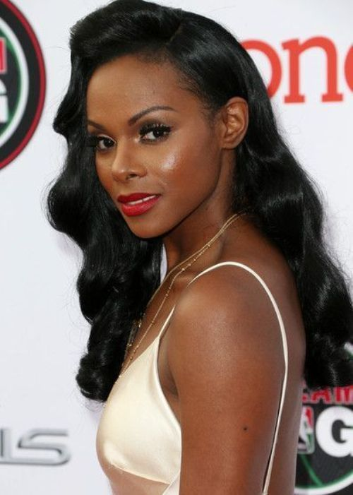 60 Best Images About Black Prom Hairstyles On Pinterest Black