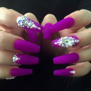 ideas bling nails