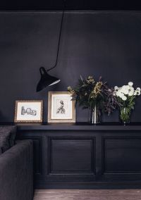 25+ best ideas about Dark interiors on Pinterest | Black ...