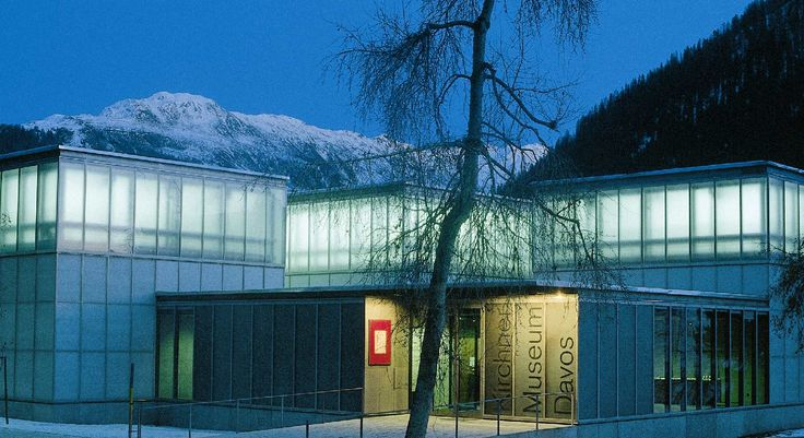 Gigon Guyer Kirchner Museum  Architecture  Pinterest  Davos Architecture and Facades