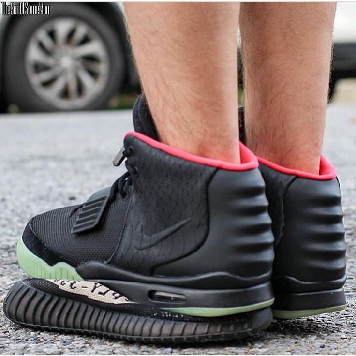 nike air yeezy ii over adidas yeezy boost do you approve by thesonofsomeman