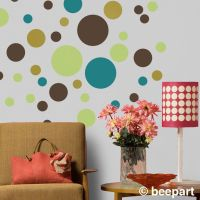1000+ ideas about Polka Dot Wall Decals on Pinterest