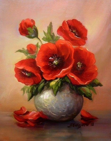 Die 25 Besten Ideen Zu Blumen Malen Auf Pinterest