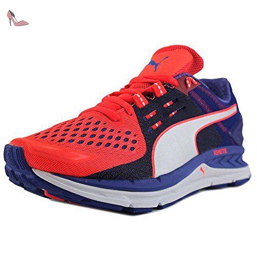 puma speed s ignite femmes us bleu chaussure de course chaussures puma