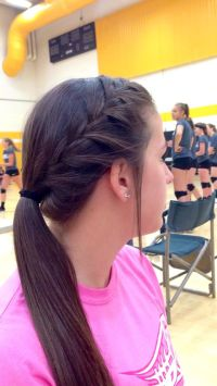 20+ best ideas about Volleyball Hair on Pinterest ...