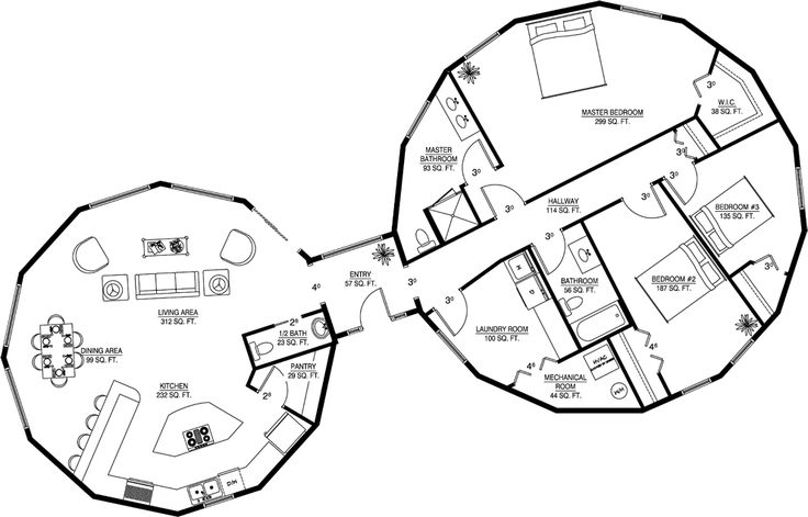 25+ bästa idéerna om Round house plans på Pinterest