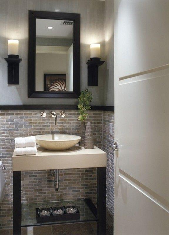 1000+ ideas about Small Half Bathrooms on Pinterest