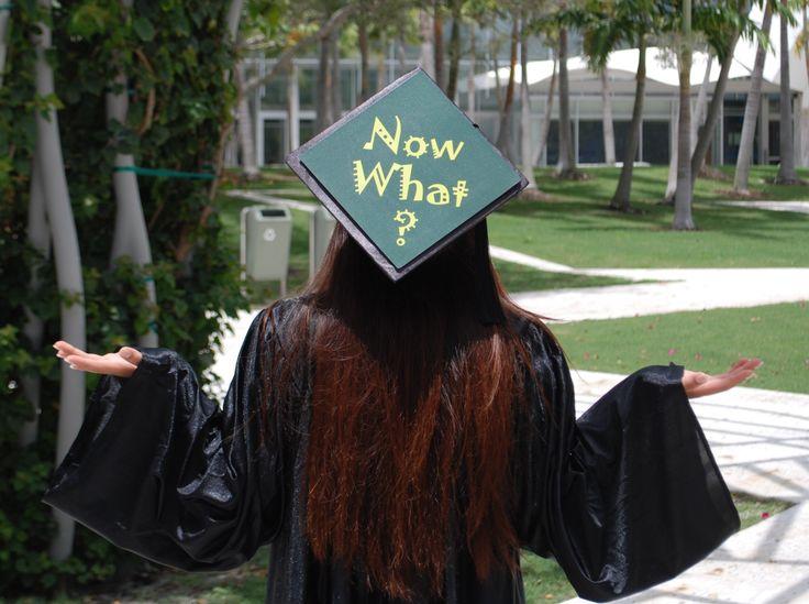 graduation cap decoration – NOw what