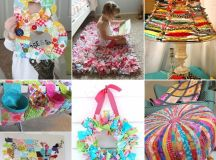 Scrap material up-cycling! DIY - click to link for ...