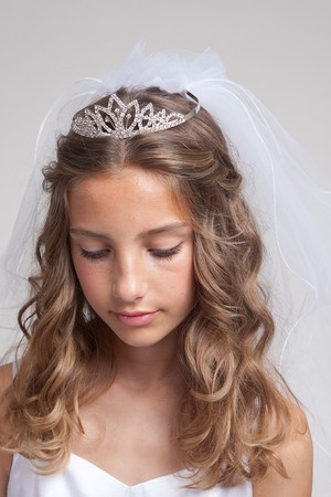 17 Best images about Communion hairstyles on Pinterest  Her hair This sunday and Flower girl