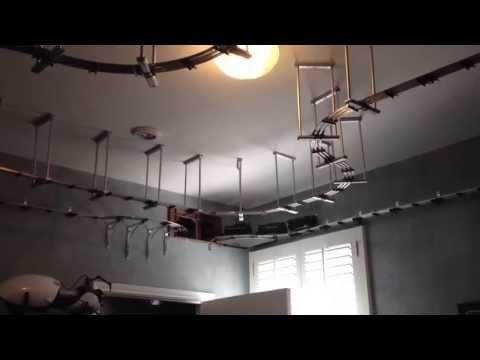 Wall Mounted Train Ceiling Brackets  YouTube  Chugga