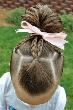 25 Best Ideas About Easy Little Girl Hairstyles On Pinterest