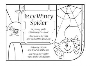25+ best ideas about Incy wincy spider rhyme on Pinterest