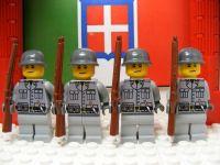 WWII - LEGO Italian Milizia Corporals Blackshirts | Lego ...