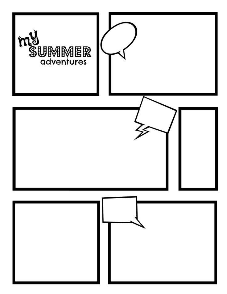 comic template word