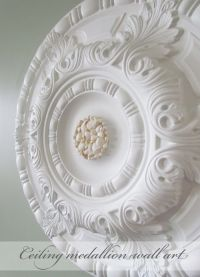 17 Best images about Home : Wall Art Ceiling Medallion on ...