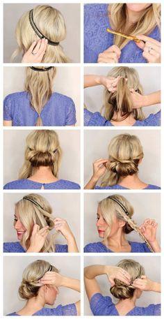 Die Besten 20 Haarfrisuren Selber Machen Ideen Auf Pinterest