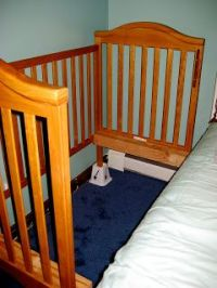 Put Crib on Risers for Extra Under-Bed Storage - This ...