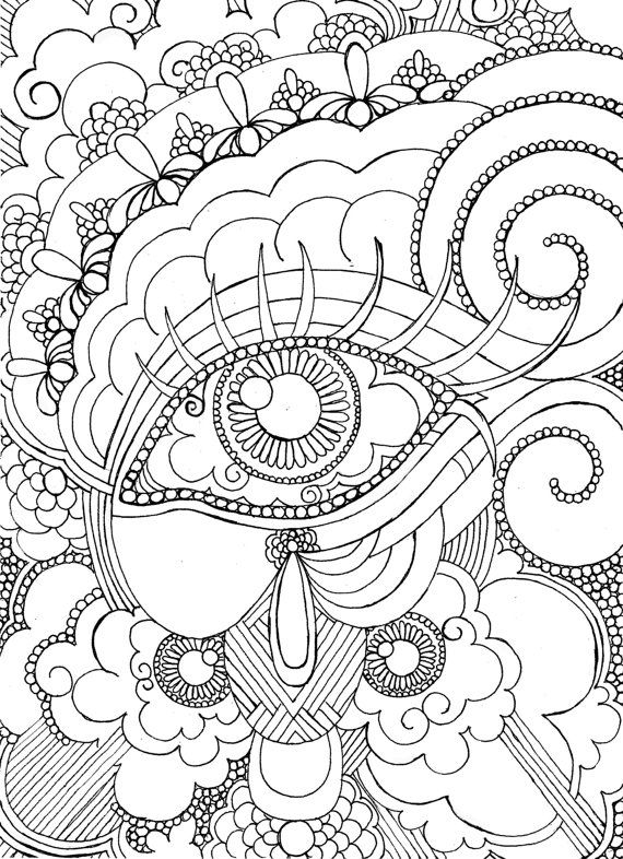 1102 best images about Adult Coloring pages on Pinterest