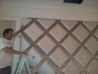 1000+ ideas about Upholstered Walls on Pinterest | Fabric ...