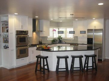 Triangle Kitchen Layouts with Island  Triangle Island Design Ideas Pictures Remodel and