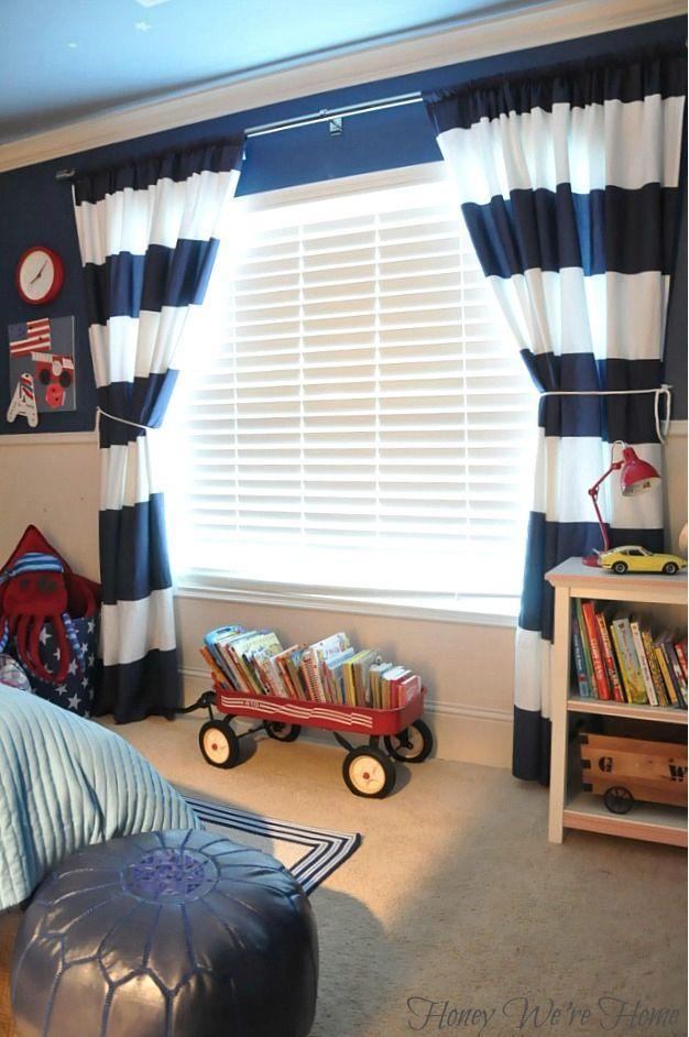 25 Best Ideas About Boys Bedroom Curtains On Pinterest Diy Boy