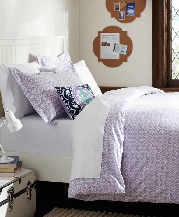 Light Purple Bedding At It S Best Dorm Room Ideas