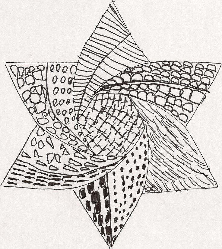 1000+ images about Zentangle stars on Pinterest