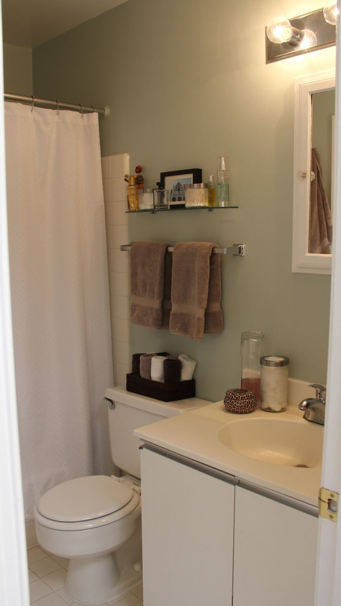 17 Best ideas about College Apartment Bathroom on ...