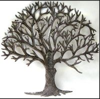 Metal Tree Wall Art - wall art design: metal branch wall ...