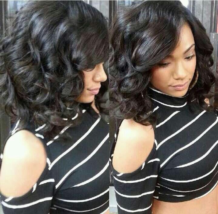554 Best Images About Quick Weaves Sew Ins And Relaxed Hairstyle