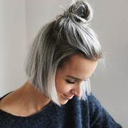 ideas silver hair