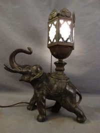 Antique Elephant Lamp Related Keywords - Antique Elephant ...