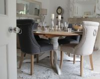 dining room chairs with back ring | ... Studded No. 10 ...