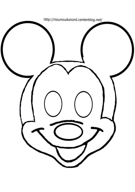masque mickey d'autres modèles sur mon blog http
