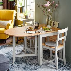 Ikea Kitchen Remodel Cost Pfister Faucets Gamleby Gateleg Table, Light Antique Stain, Gray | Stains ...