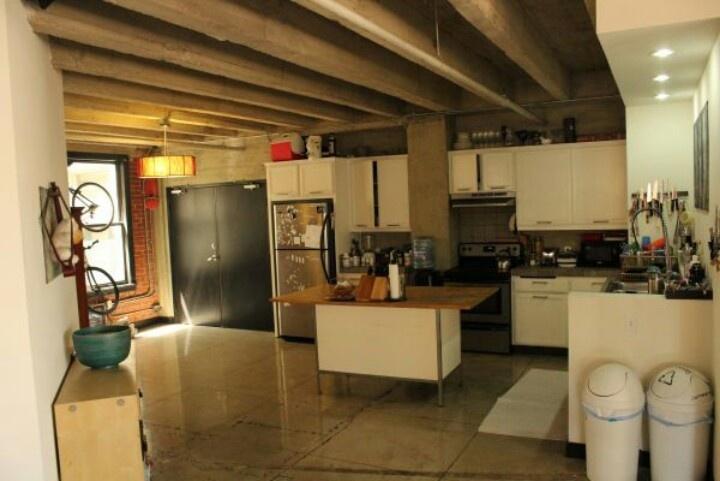 Cool studio apartment kitchen  I heart these studio