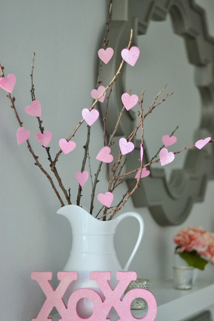 25 Best Ideas About Valentines Day Decorations On Pinterest Diy