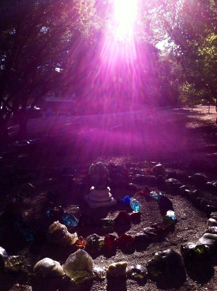 Andara Crystal Spiral light  Sacrade places sacred