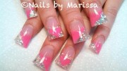 acrylic nails #valentine ideas
