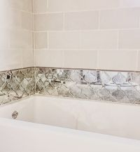 25+ best ideas about Mirror tiles on Pinterest | Antiqued ...