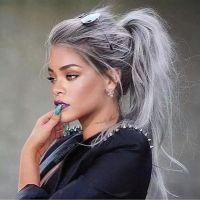 Grey and proud: the hairstyle trend where millennials and ...