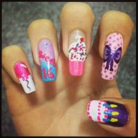 25+ Best Ideas about Sweet 16 Nails on Pinterest