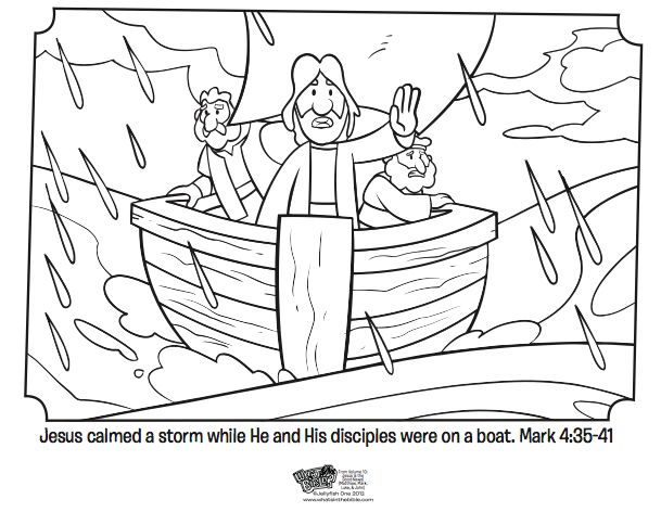 17 Best images about jesus calms storm bible story on