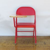 """Mid Century Folding Desk Chair - Student Desk """"Revived in ..."""